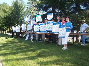 Ontario College Faculty support members