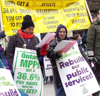 Support renewal of your public services