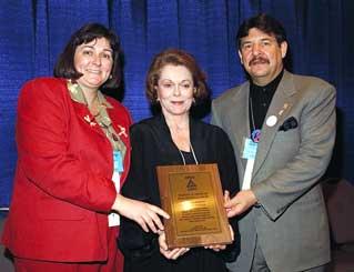 Shirley Douglas awarded
