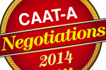 2014 CAAT-A Bargaining Bulletin, Issue 8