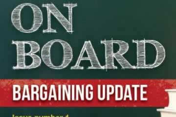 On Board: Boards of Education Bargaining Bulletin November 2014