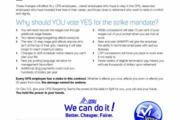 Why Vote YES to the OPS Strike Vote?