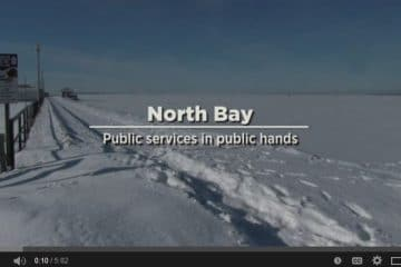 North Bay: Public services in public hands