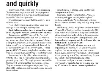 OPS Table Talk 2014 Issue 3: Something has to change…and quickly
