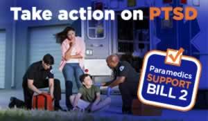 Paramedics Support Bill 2: Take action on PTSD