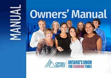 OPSEU Owners manual