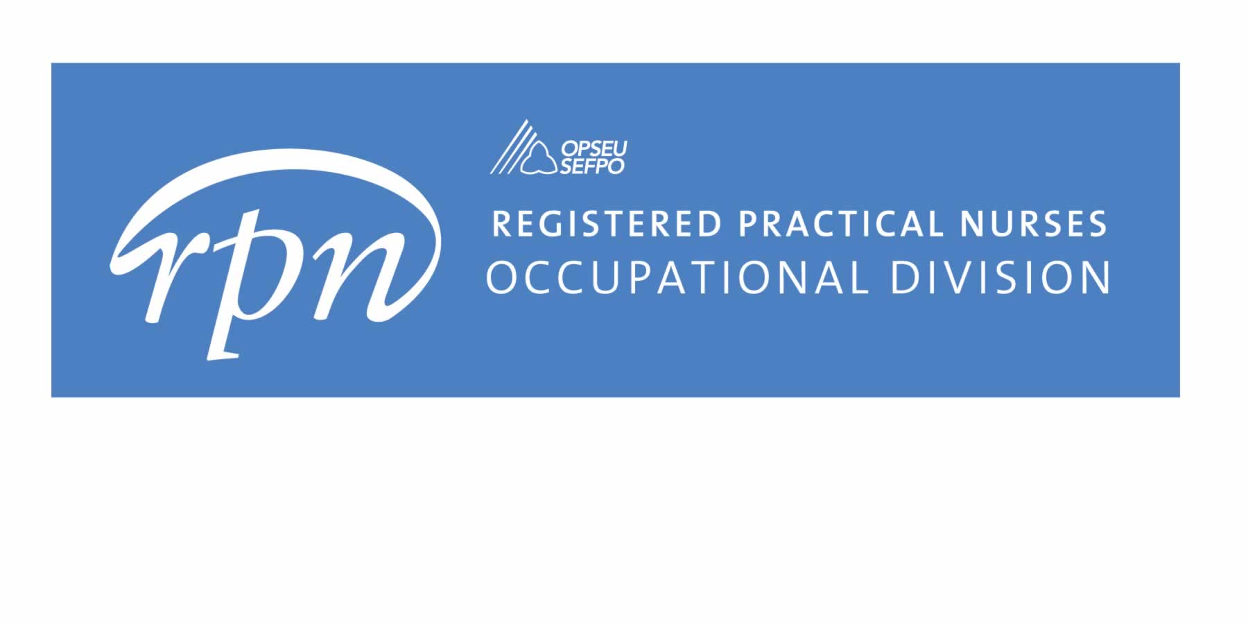 Registered practical nurses occupational division
