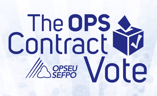 The OPS Contract Vote
