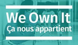We Own It. Ca nous appartient