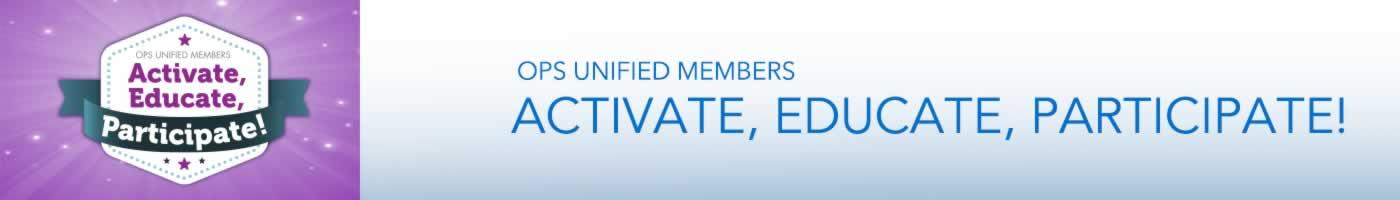 OPS Activate, Educate, Participate