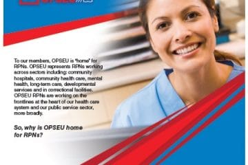 OPSEU: the union of choice for Registered Practical Nurses