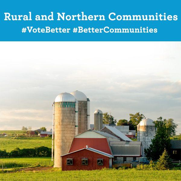 Rural and Northern Communities. Vote Better. Better Communities.