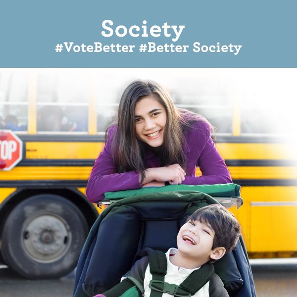 Society. Vote Better. Better Society.