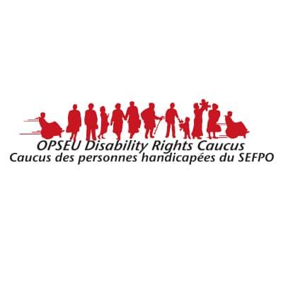 OPSEU Disability Rights Caucus - Caucus des personnes handicapees du SEFPO logo