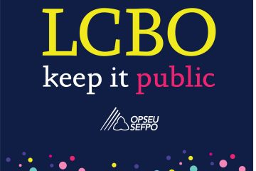 Act today to save the LCBO