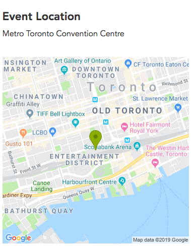 Convention Location Map