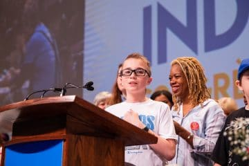 OPSEU Convention 2019: 13-year-old wows crowd with inspiring speech on importance of autism services