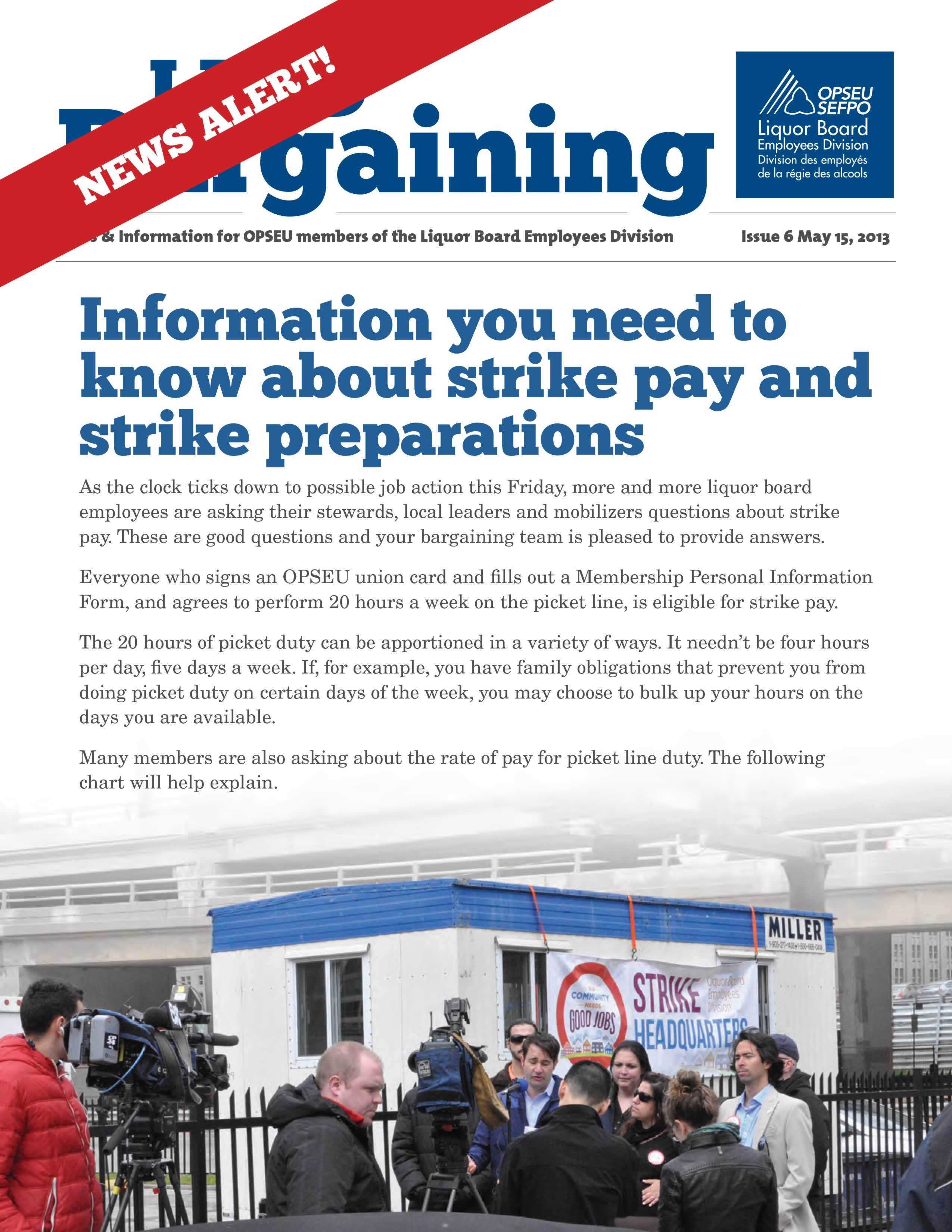2013 Collective Bargaining: News Alert Issue #6