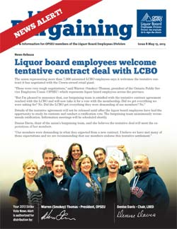 LBED Bargaining Bulletin Issue 8
