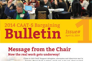 2014 CAAT-S Bargaining Bulletin, Issue 1
