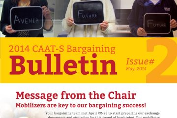 2014 CAAT-S Bargaining Bulletin, Issue 2