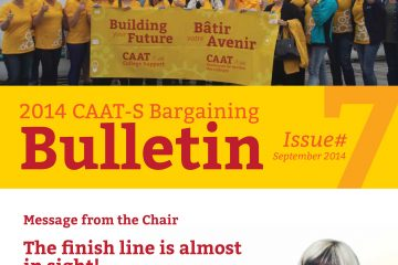 2014 CAAT-S Bargaining Bulletin, Issue 7