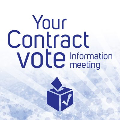 Your Contract Vote Information Meeting