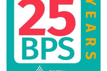 BPS 25 Years logo