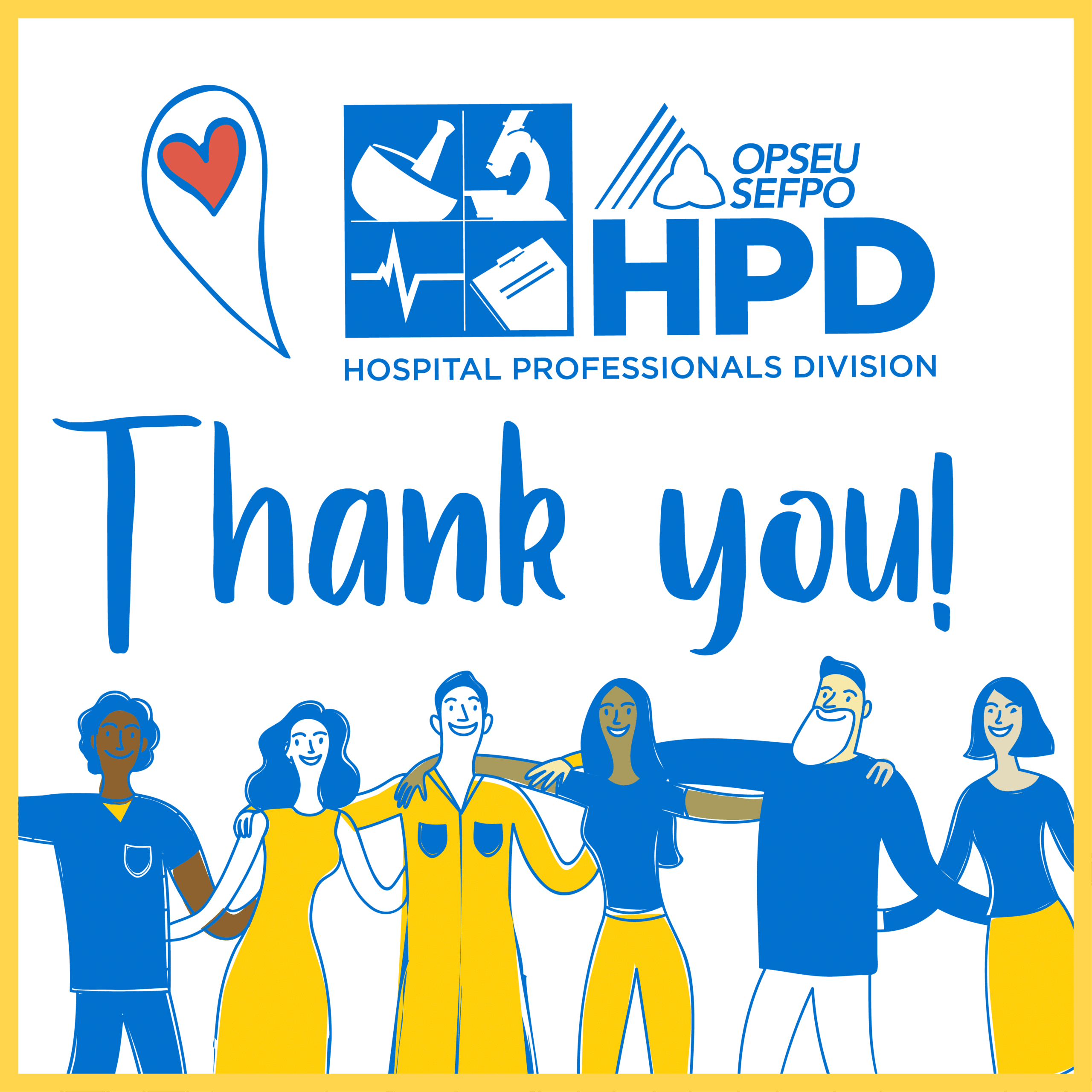 Thank you! OPSEU Hospital Professionals Division