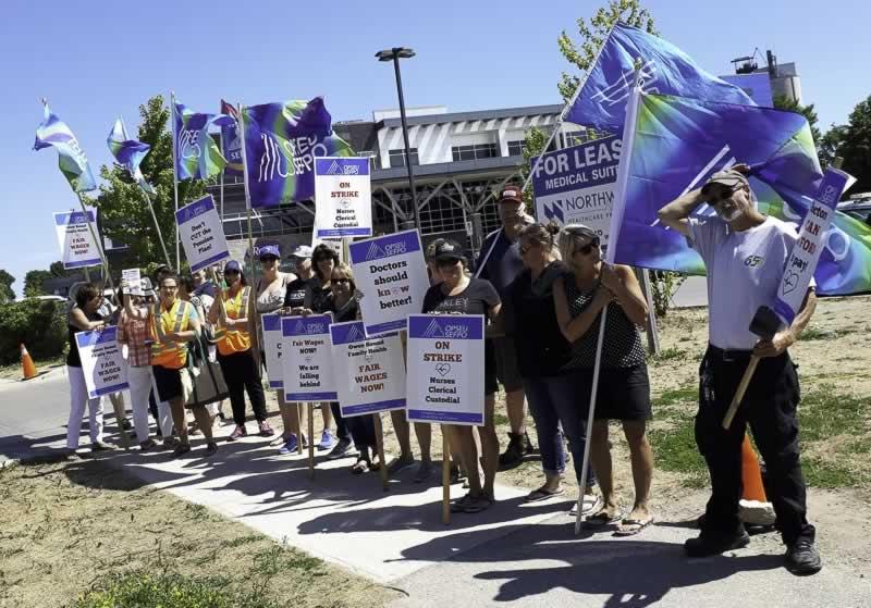 Local 276 Family Health Organization rally