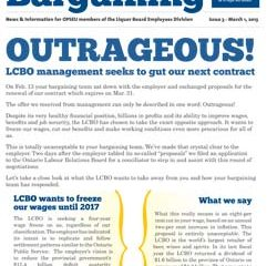 2013 Collective Bargaining Bulletin Issue #3: March 1, 2013