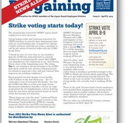 2013 Bargaining Strike Vote News Alert 6