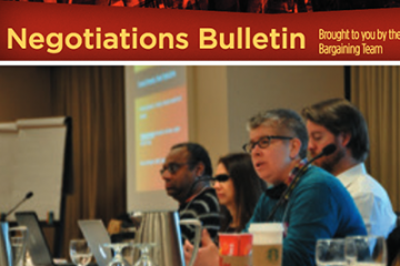 United for what we all need: CAAT-A Negotiations Bulletin, Issue 2