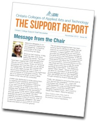 The Support Report cover November 2013
