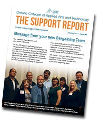 CAAT Support Report Newsletter - Issue 5 - January 2014