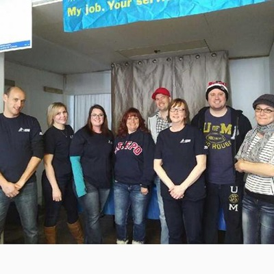 OPSEU members at Campbellford/Brighton food drive