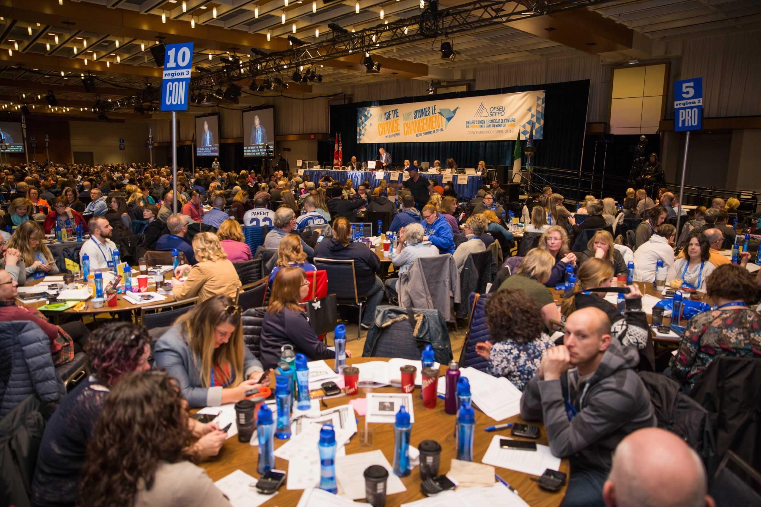 Convention 2018 Day 1 Photo Warren Smokey Thomas