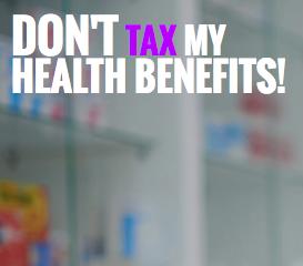 Don't tax my health benefits
