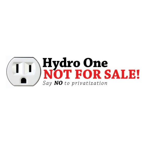 Act now to stop the Hydro One privatization