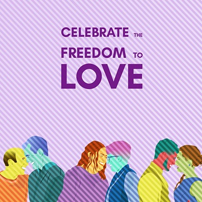 Celebrate the Freedom to Love