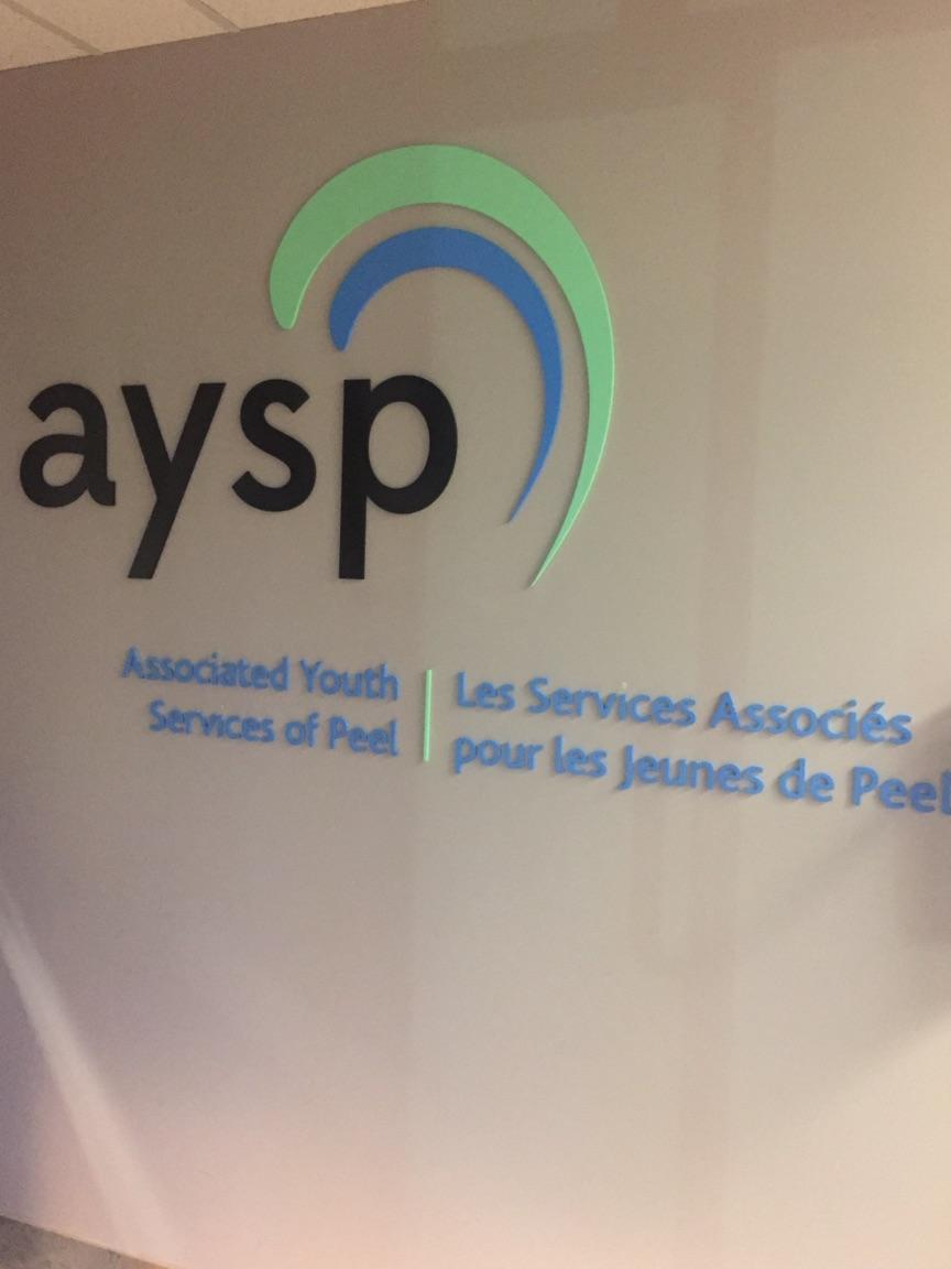 Associated Youth Services of Peel (AYSP) logo