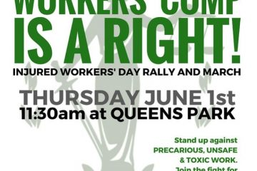 Workers' comp is a right!