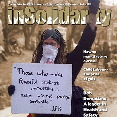 In Solidarity Spring 2012
