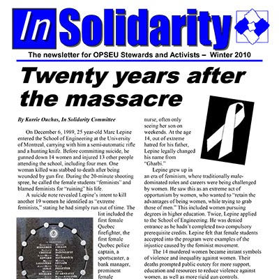 In Solidarity Winter 2010