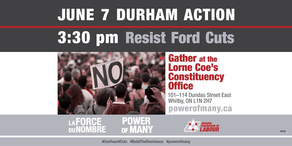 Durham June 7 Day of Action Poster