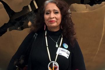 LaDonna Allard of Standing Rock
