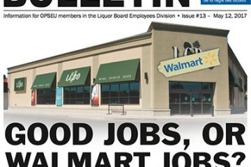 Good jobs or Walmart Jobs? - 2017 LBED Bargaining Bulletin #13