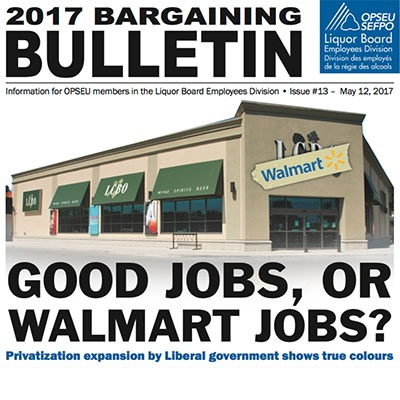 Lbed Bargaining Bulletin #13, May 12, 2017