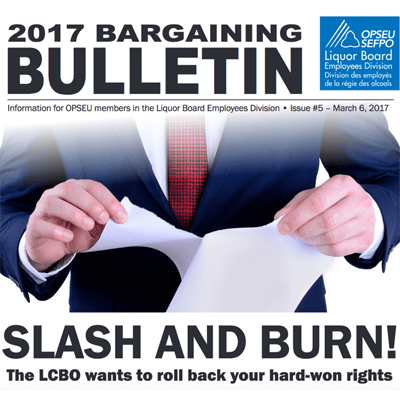 LBED 2017 Bargaining Bulletin, Issue 5, March 6, 2017