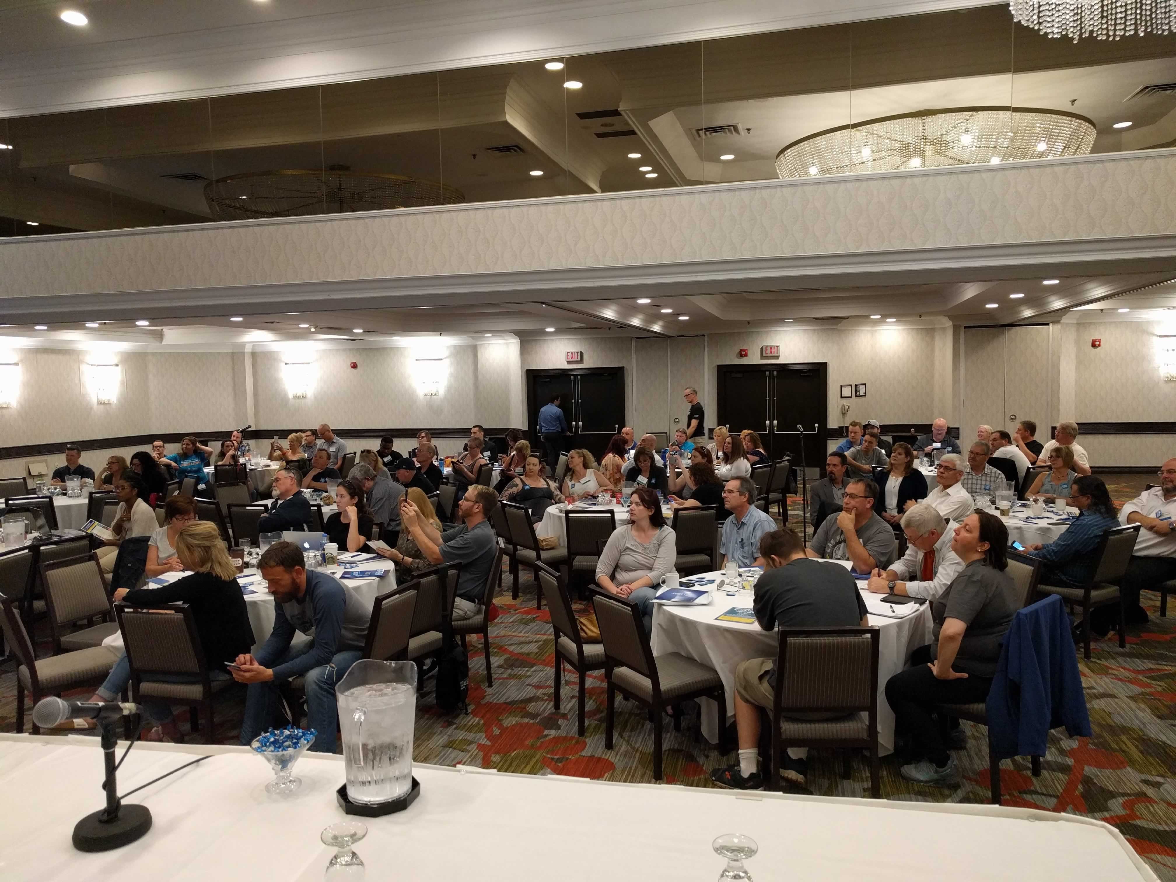 OPSEU LBED members meet to prepare for strike